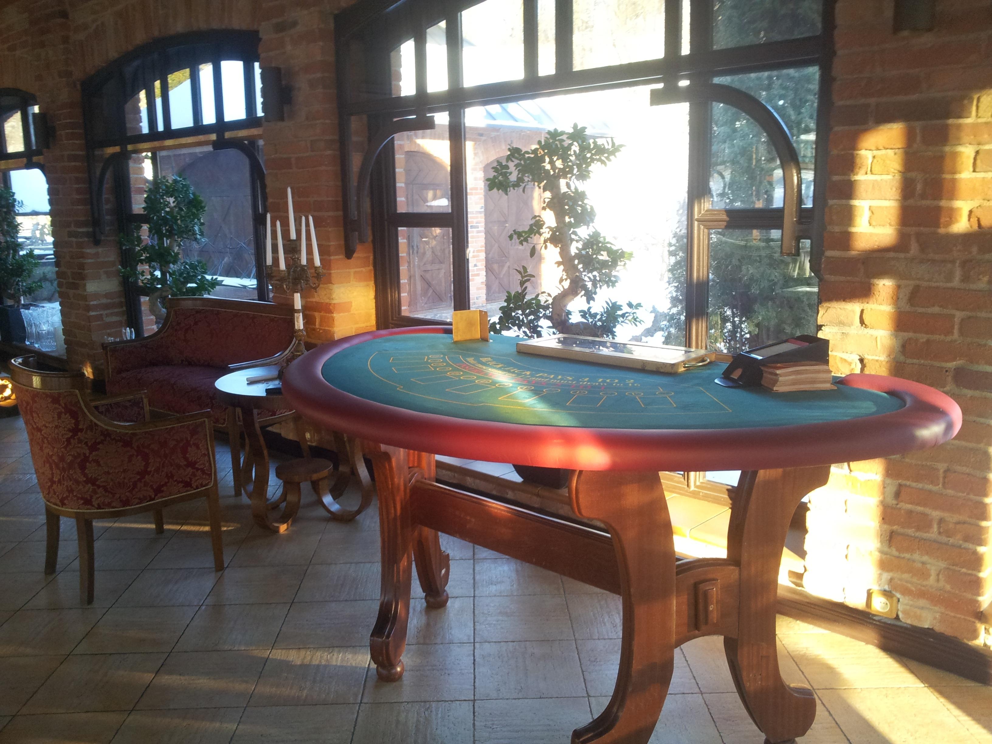 Black Jack stalas kazino vakareliui 2